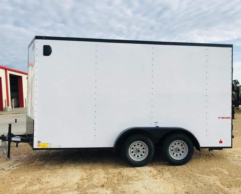 2018 Cargo Mate LEEH714TA2 Enclosed Cargo Trailer