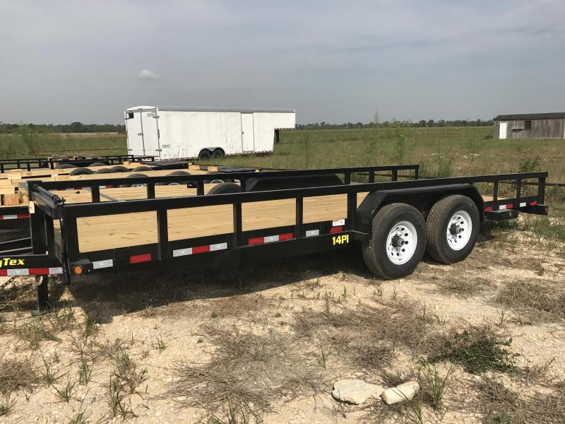 2018 Big Tex Trailers 14PI-20