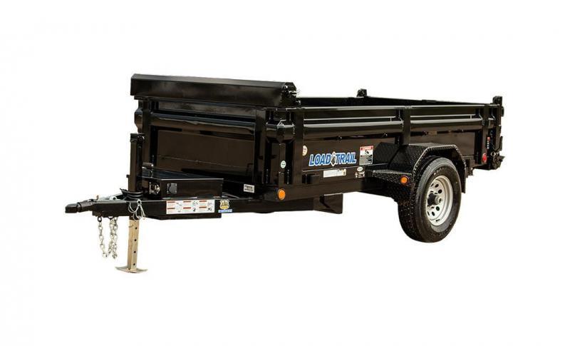 2018 Load Trail Ds05 Single Axle Dump 5200 Lb W 4