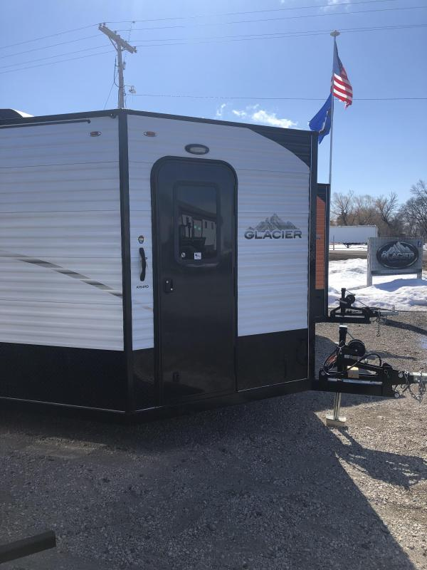 2019 Glacier A164RC Ice/Fish House Trailer