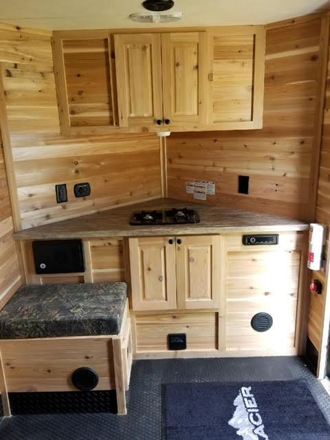 2019 Glacier Other A612 Ice/Fish House Trailer