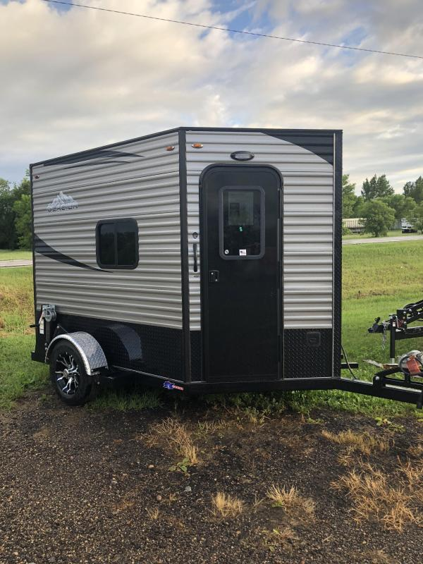 2019 Glacier A6X8 SE Ice/Fish House Trailer