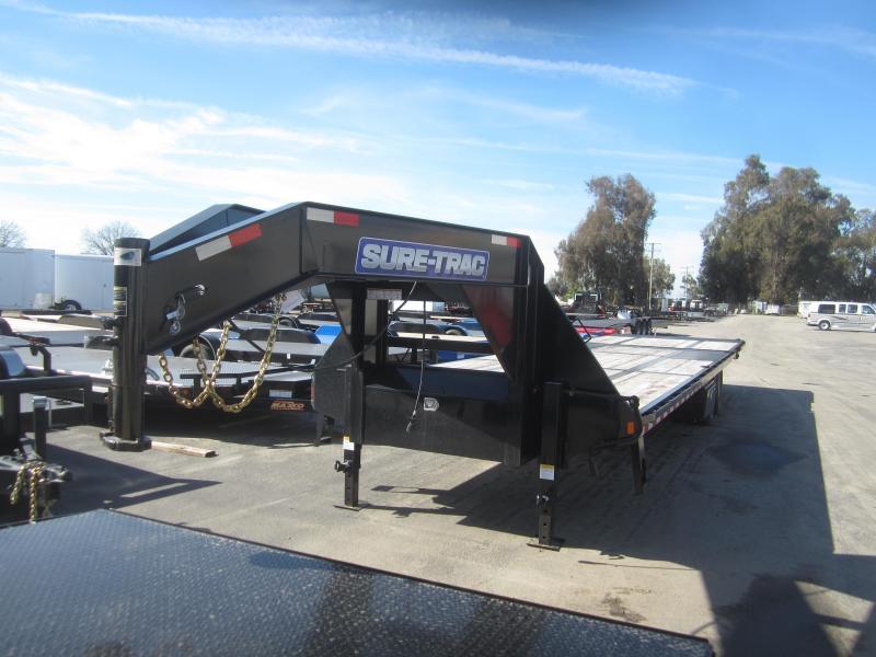 2017 Sure-Trac ST1022410LPDOPL72A-GN-239 Equipment Trailer