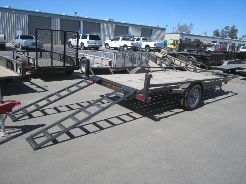 2016 Maxxd Trailers SINGLE AXLE ATV HAULER Utility Trailer