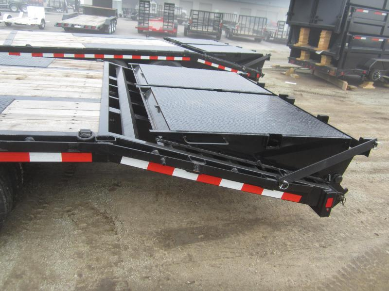 2017 Sure-Trac ST102255LPDOPL72A-GN-239 Flatbed Trailer