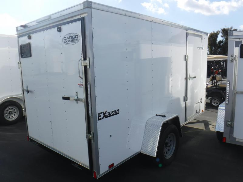 2019 Pace American EX6X12S12 Enclosed Cargo Trailer