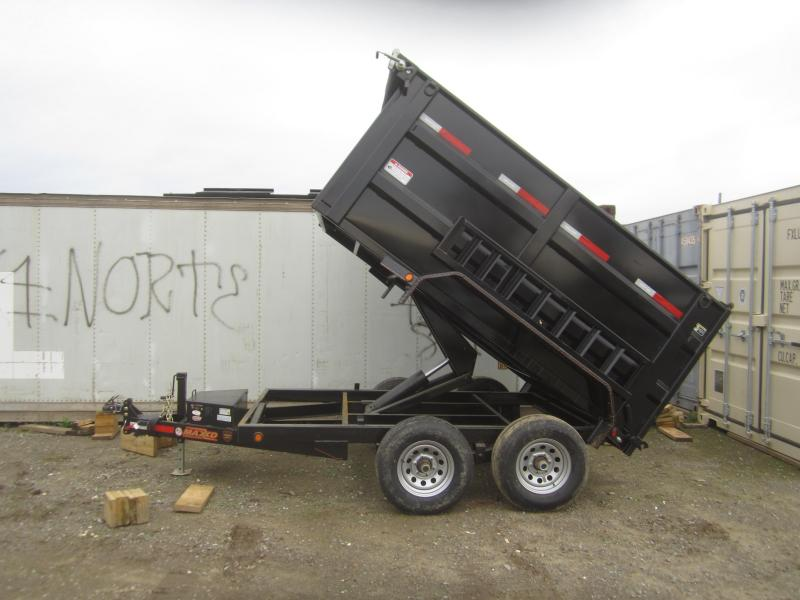 "2017 Maxxd Trailers 10X72- MAXXD 72"" DUMP Dump Trailer"