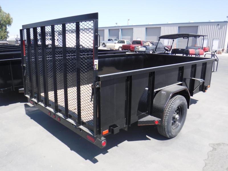 2019 MAXXD ANGLE SINGLE AXLE Utility Trailer