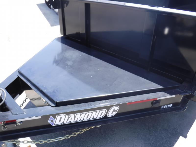 2016 Diamond C Trailers 24LPDL14X82 Dump Trailer