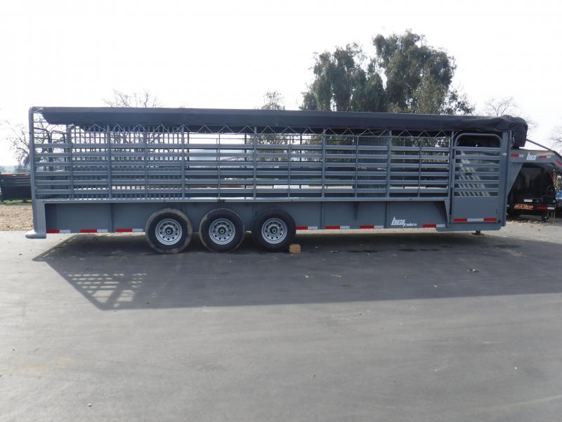 2019 BCI Trailers 28BTL Livestock Trailer