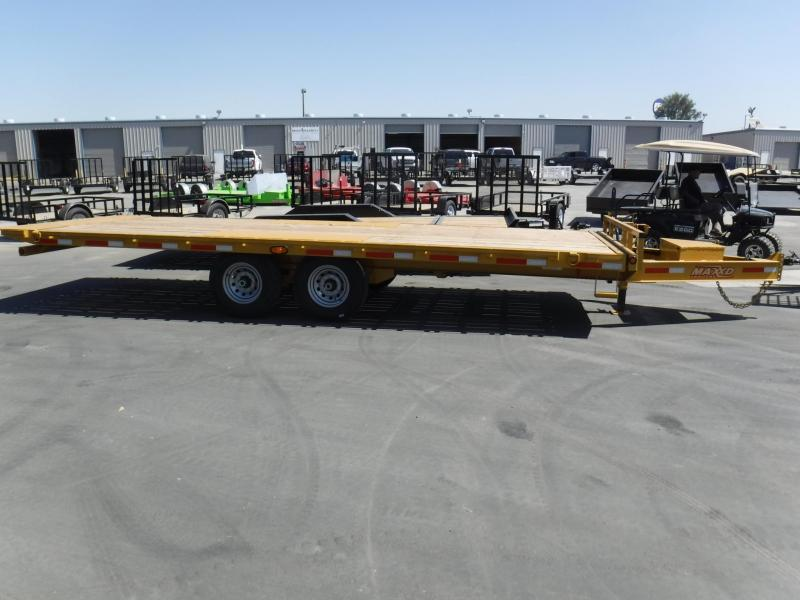 2018 Maxxd Trailers 14K TILT DECKOVER Equipment Trailer