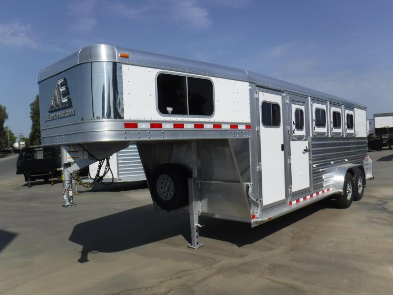 2019 Elite Trailers 4H MUSTANG Horse Trailer