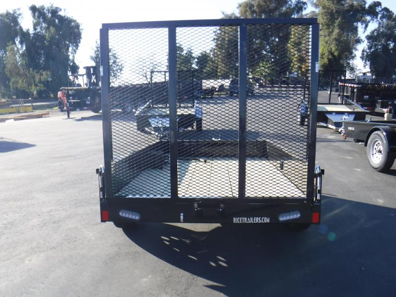 2019 Rice SST58 Utility Trailer