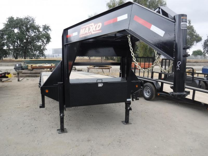 2018 Maxxd Trailers 14KTILTDECKOVER Equipment Trailer in Ashburn, VA