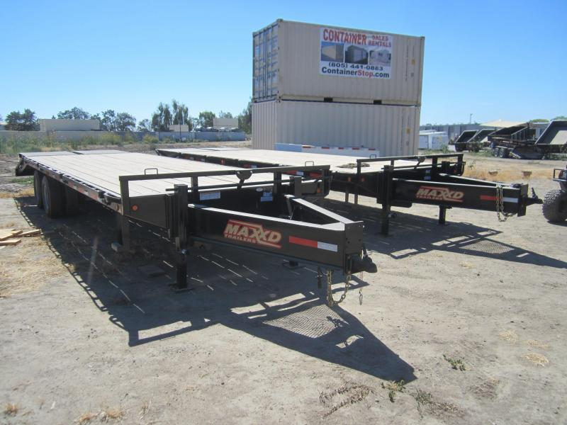2016 Maxxd Trailers GN FLATBED WITH DUALS Flatbed Trailer in Ashburn, VA