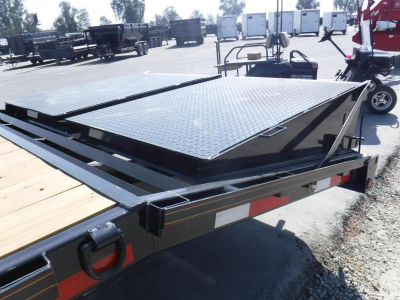 2018 Maxxd Trailers GOOSENECK FLATBED WITH SINGLES Equipment Trailer