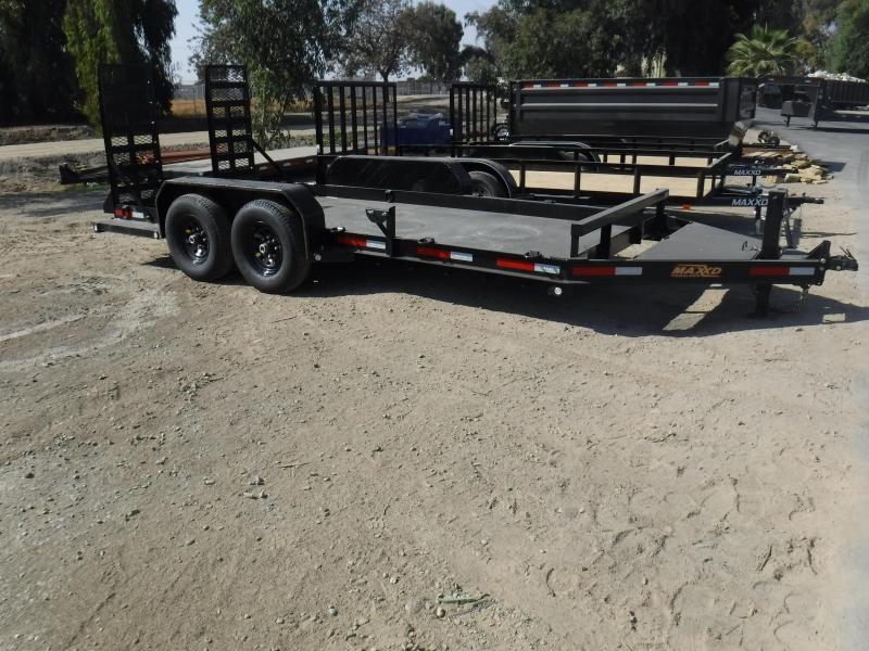 2019 MAXXD 6 ANGLE SKID STEER Equipment Trailer
