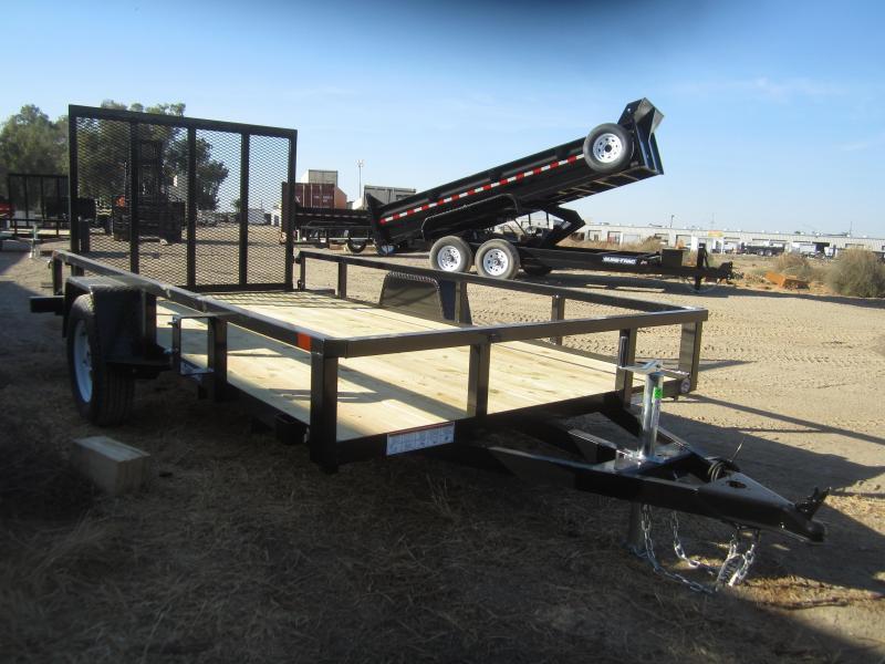 2016 Sure-Trac ST7212TA-B-030 Utility Trailer