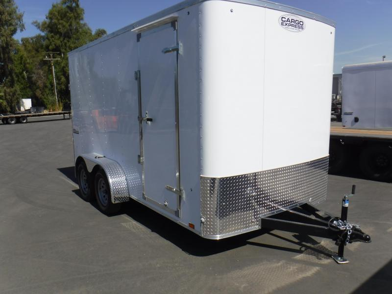 2019 Cargo Express EX7X14TE2 Enclosed Cargo Trailer