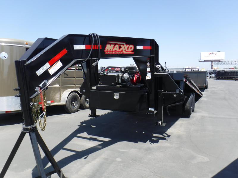 2019 MAXXD FLATBED SLIDE X TILT Equipment Trailer