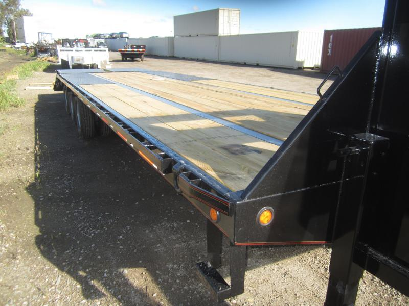 2017 Maxxd Trailers 30X102 LOPRO FLATBEDWITH DUALS Equipment Trailer