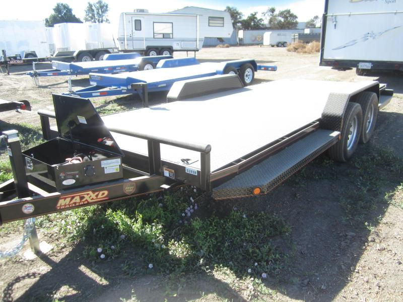 2018 May Trailers 18X83 POWER TILT Flatbed Trailer