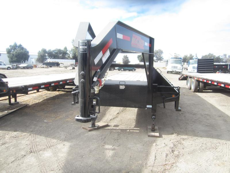 2018 Maxxd Trailers 36X102 HYDRAULIC DOVETAIL WITH DUALS Equipment Trailer