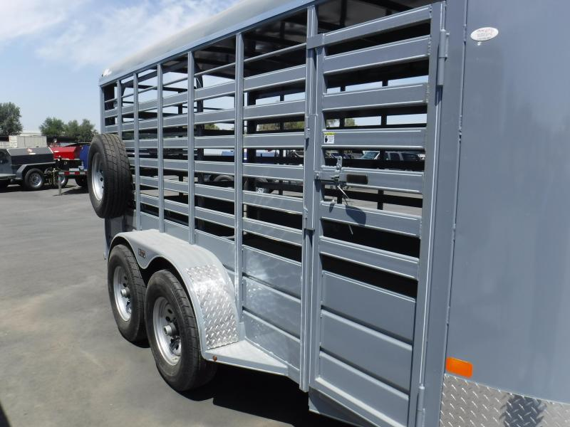 2018 BCI 16X6 RH SERIES Livestock Trailer