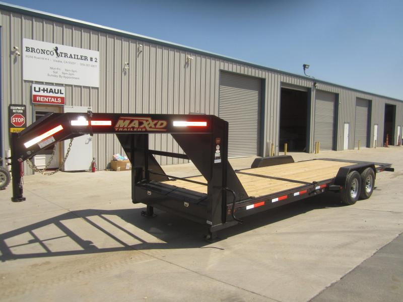 "2017 Maxxd Trailers 24 X 83 - 6"" GRAVITY/EQUIPMENT TILT Flatbed Trailer"