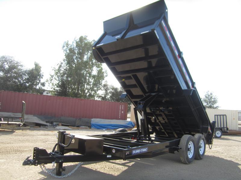 2016 Sure-Trac ST8216HLOD-B-140 Dump Trailer