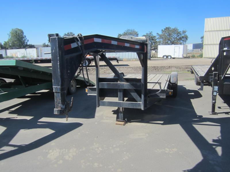 1990 Other GOOSENECK WOOD Flatbed Trailer