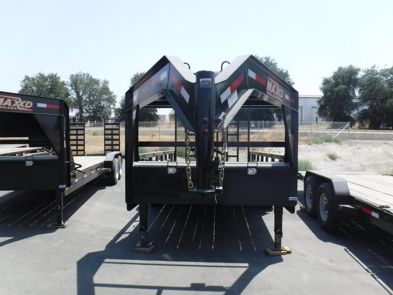 2018 Maxxd Trailers 16X83 GOOSENECK CARHAULER Equipment Trailer in Ashburn, VA