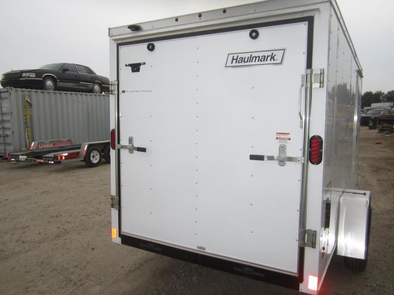 2017 Haulmark 6X10 Enclosed Cargo Trailer