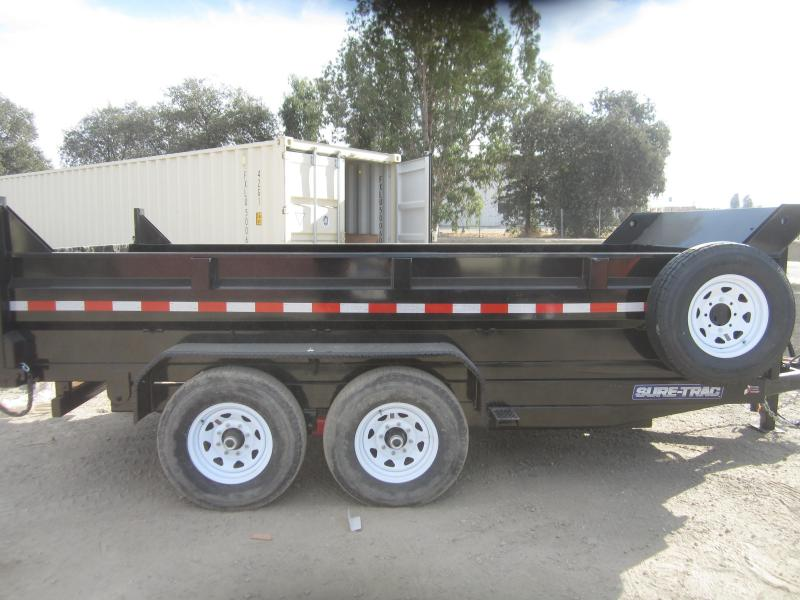 2016 Sure-Trac ST8214DD-B-140 Dump Trailer