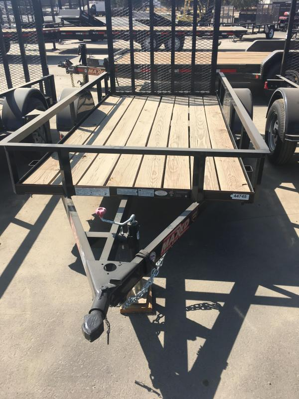 2017 Maxxd Trailers 10X61 SINGLE AXLE Utility Trailer