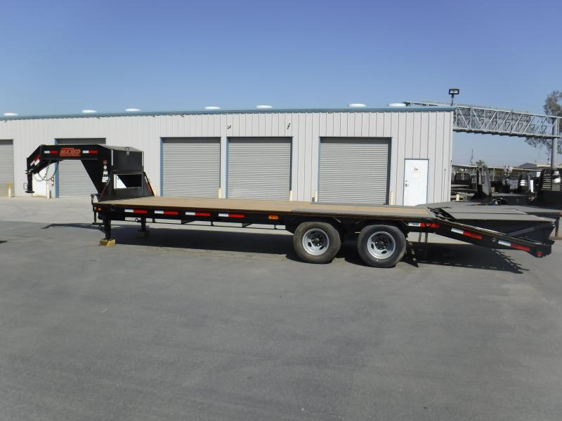 2019 Maxxd Trailers LWO-PRO TANDEM DUAL FLATBED Flatbed Trailer