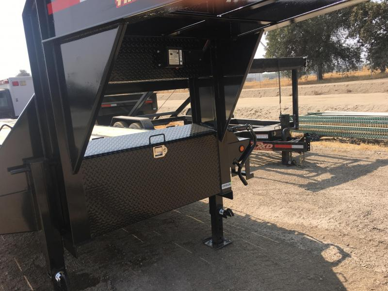 2019 Maxxd Trailers LO-PRO FLATBED WITH DAULS Equipment Trailer