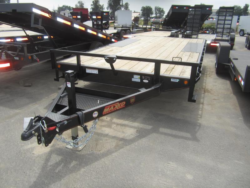 2017 Maxxd Trailers 16 X 102 - MAXXD 7K DECKOVER Equipment Trailer