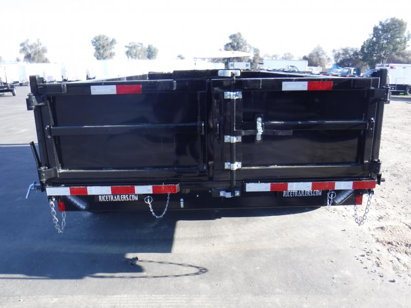 2019 Rice HD14 Dump Trailer