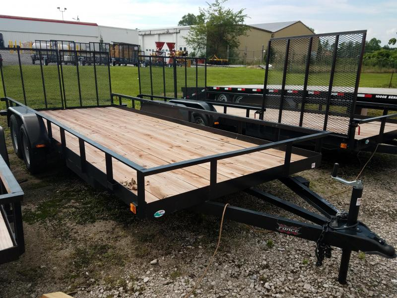 2017 Force USASG6518TA Utility Trailer