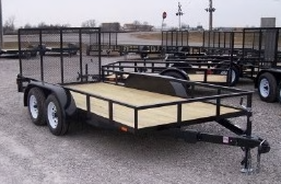 """2017 Maxxd Trailers 12'X77"""" Utility Trailer  ******HAVE EVERY SIZE YOU MAY NEED IN STOCK******"""