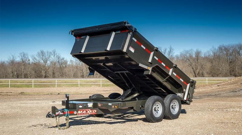 "2019 MAXXD 16'X83"" Dump Trailer   ******HAVE EVERY SIZE YOU MAY NEED IN STOCK******"