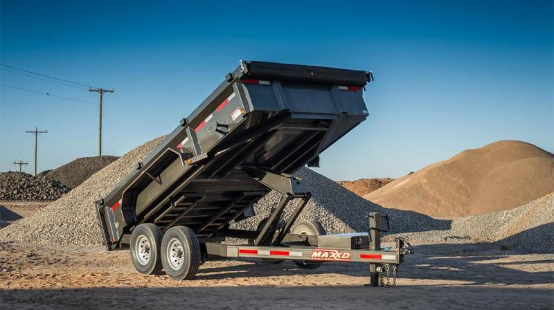 """2019 MAXXD 16'X83"""" Dump Trailer   ******HAVE EVERY SIZE YOU MAY NEED IN STOCK******"""