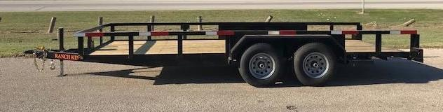 "2019 Ranch King 6'10""X12' Utility Trailer    ******HAVE EVERY SIZE YOU MAY NEED IN STOCK******"