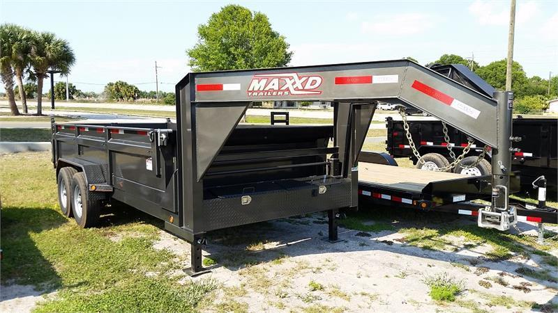 "2019 MAXXD 16'X83"" Gooseneck Dump Trailer   ******HAVE EVERY SIZE YOU MAY NEED IN STOCK******"