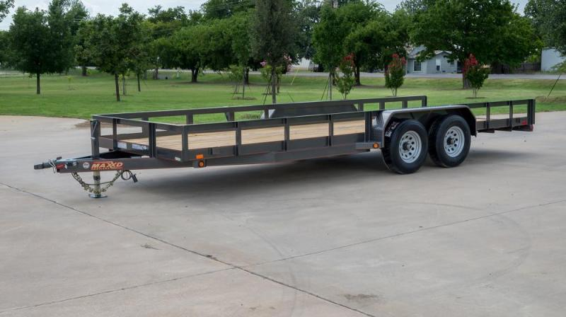 """2019 MAXXD 16'X83"""" Utility Trailer   ******HAVE EVERY SIZE YOU MAY NEED IN STOCK******"""