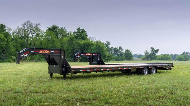 """2019 MAXXD 40'X102"""" Flatbed Dual Tandem Trailer    ******HAVE EVERY SIZE YOU MAY NEED IN STOCK******"""