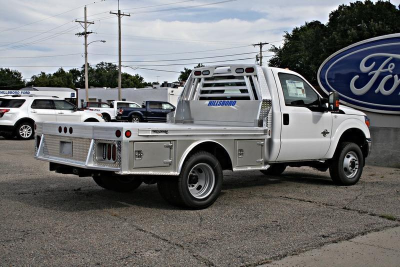 "2019 Hillsboro 3500 Series Aluminum Truck Bed 96"" x 8'6"""