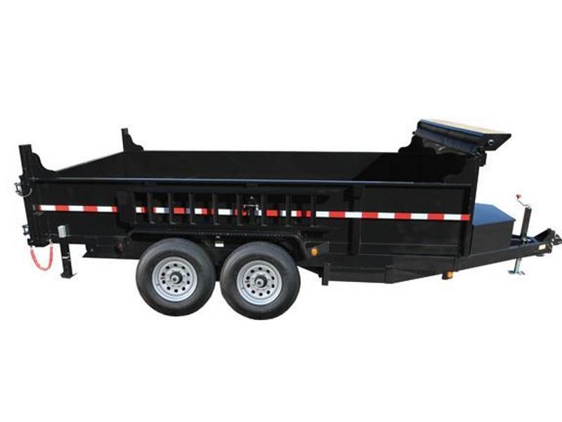 2017 Quality Steel and Aluminum 83 x 14 Dump Trailer
