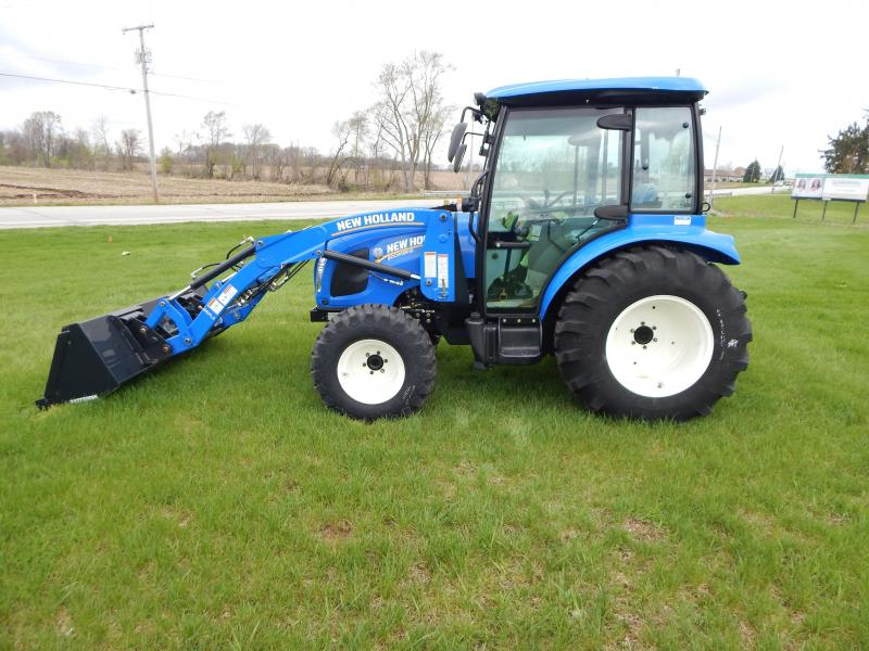 2016 New Holland Boomer 41 Tractor W 72